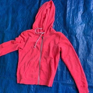 Pink hoodie
